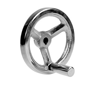 cast iron three arm handwheel