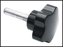 Star Knob With Threaded Stud