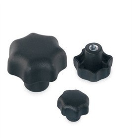 7 Grip-recesses Star Knob